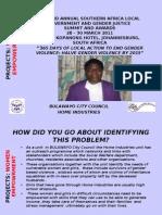 PROJECTS Presentation Women Empowerment Bulawayo Judith Muk