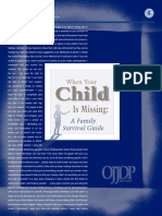 """EASTERN Curriculum - Resources - """"When Your Child is Missing"""" When Your Child is Missing"""