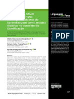 Metodologias Ativas e Ensino de Língua Estrangeira