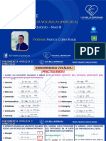 LENGUAJE - CONCURRENCIA VOCALICA I (PRACTICA)