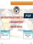 Chemistry Investigatory Project On Bio-diesel made by Kamal/Kishan
