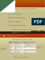 Avventuriamoci negli Input HTML5