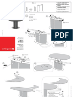 Calligaris Oddysey Table Assembly Instructions