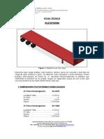 Ficha Técnica Plataforma