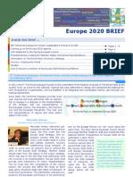 Europe 2020 Brief March 2011