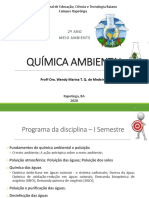 Quimica Ambiental - 2 Ano Parte 1
