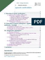 3- Diagnostic molÇculaire