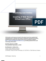 Practicing Law Online