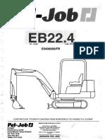 Pel Job EB22.4 Manual De