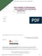 PNLD_ Tudo sobre o Programa Nacional do Livro e do Material Didático