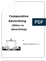 Comparative advertsng ppt