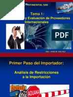 Identificacion de Proveedores Internacionales