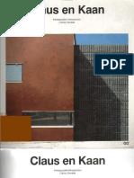 Catalogos de arquitectura contemporanea - Claus en Kaan. (Pac.8) pdf