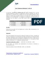 """Ejercicio """"Ingresos Ordinarios"""" - NIC 18"""