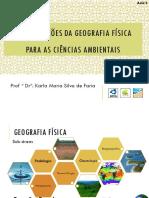 Contribuições Da Geografia Física Para as Ciências Ambientais_2021_Aula 02