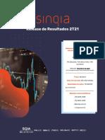 Demonstrativos Financeiros Do Resultado Da Sinqia Do 2t21