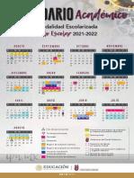 Calendario escolar IPN 2021-2022