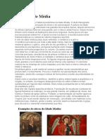Principais Características Da Arte Medieval, Renascimento Italiano e Época Barroca.