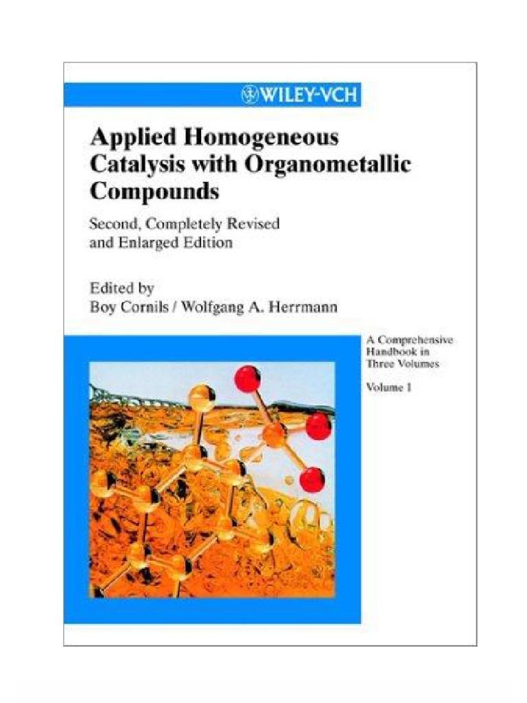 applications of organometallic compounds pdf