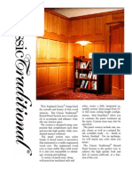 Raised Panel Wainscoting Specifications | Classic Traditional Wainscot Panel Systems | New England Classic