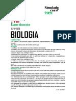 simulado biologia casaf