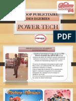Scroop Publicitaire Egerie Powertech