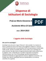 Dispense Di Istituzioni Di Sociologia