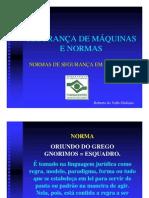 Normas aplicadas a maquinas_Fundacentro