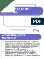 Administração de Marketing - Fatec Sp