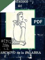 Archivo de La Palabra CAT