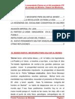 Orientaciones del comandante Chávez en el Alò presidente 373 desde el  salón de consejo de Ministro. Palacio de Miraflores