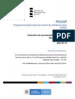 Instructivo de procesamiento de los ítems ronda 1-2021
