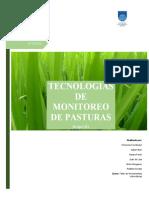 Informe Tec. Monitoreo de Pasturas 2021