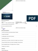 Prova Unibf Educação Tecnologica
