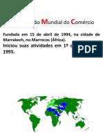 OMC E COMÉRCIO INTERNACIONAL