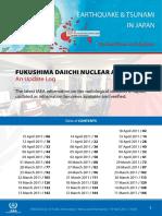 Fukushima Daiichi Nuclear Accident - An Update Log