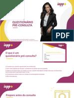 Ebook Questionário Pré-consulta- Aula 2