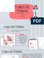 TUBO DE TORAX