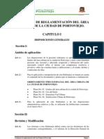 ORDENANZA DE REGLAMENTACION DEL AREA URB MODIFICADO