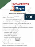 Curso Blogs Educativos - Actividades