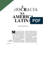 A Democracia Na America Latina
