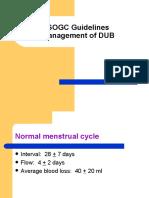 SOGC Guidelines