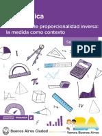 Pdp Matematica Relaciones Proporcionalidad Inversa