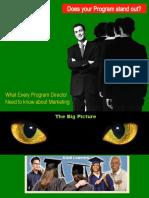 Higher education Marketing Approach