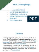 Cours Hydrogéologie ENSAM_3GC