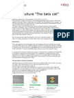 Rapport on the first call - Crowdculture.se