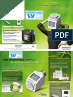 Brochure E SENSO, tête électronique pour radiateurs