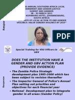 Sakala Rosemary Lusaka Division VSU Coordinator Zambia Police