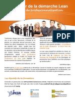 2011 2012 Animateur de La Démarche Lean Contrat de Professionnalisation