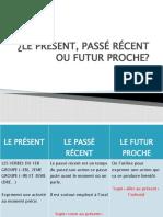Le Present Passe Recent Ou Futur Proce Comprehension Orale Exercice Grammatical 81911